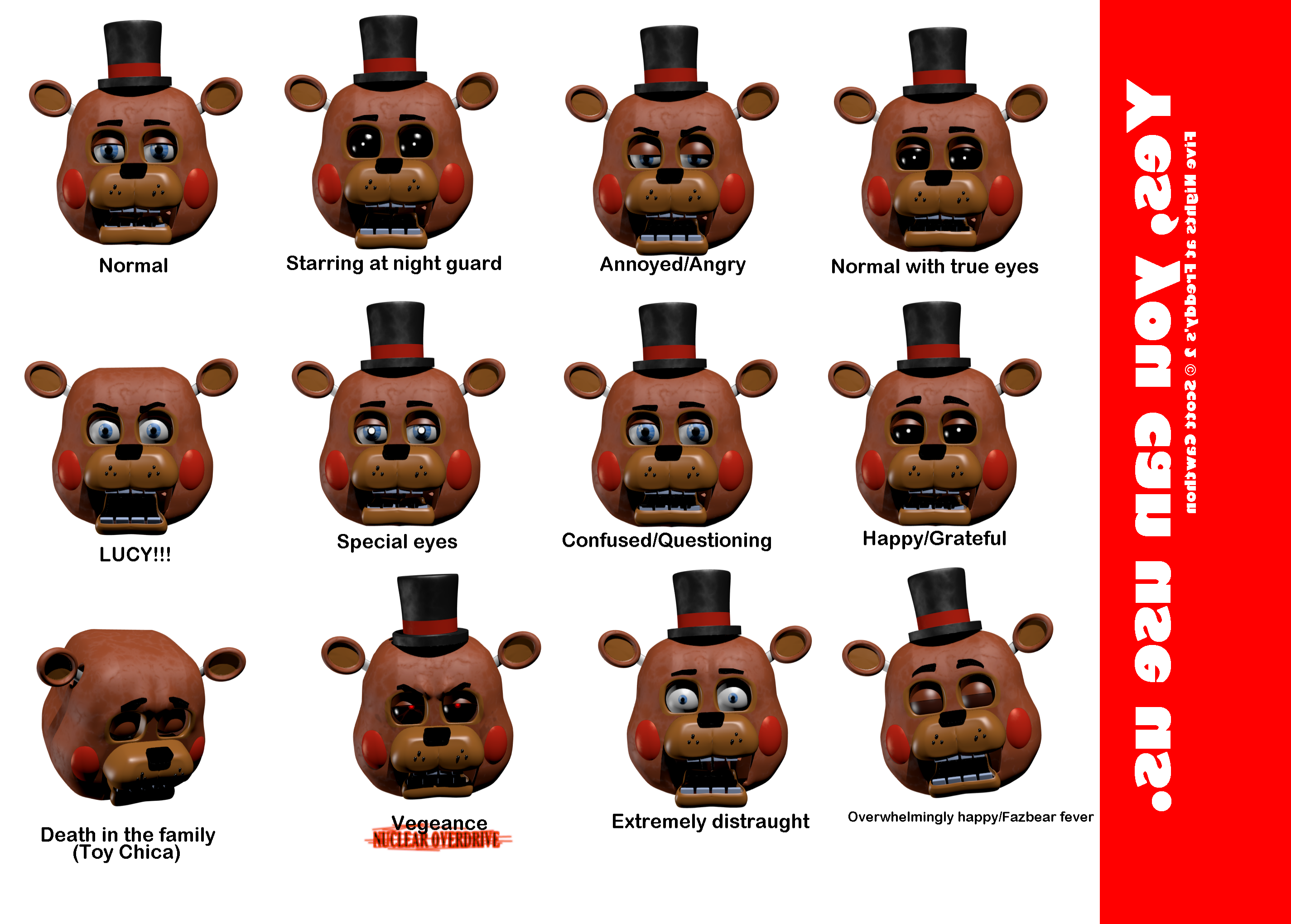 Image Result For Freddy Fazbear Coloring