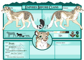 EBC Application Pearl the Troublemaker by CCWashi