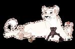 HarperTheKiv Mom and Cubs