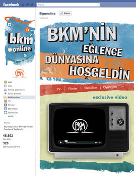BKM Welcome Page