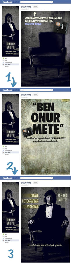 Onur Mete Welcome Page