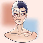 Kiyondo Ishida re-draw by Pandamonicrabbit