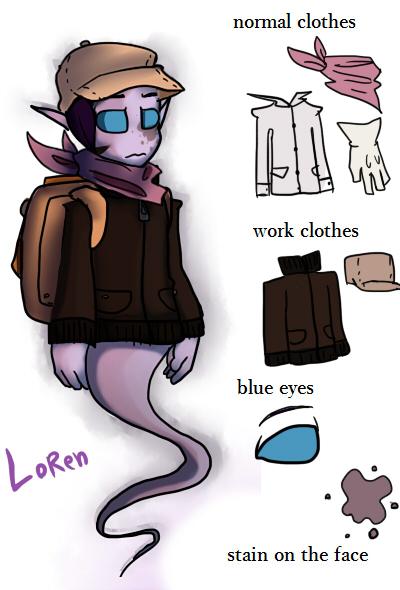 Loren (OC) by mariogamesandenemies