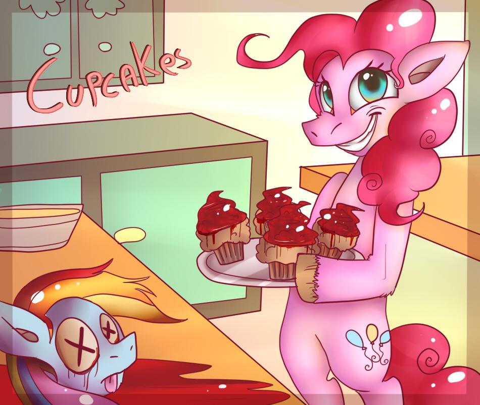 Cupcakes! by mariogamesandenemies