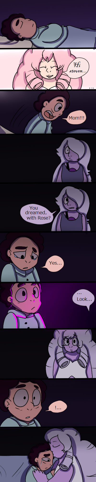Steven Dream (Comic) by mariogamesandenemies