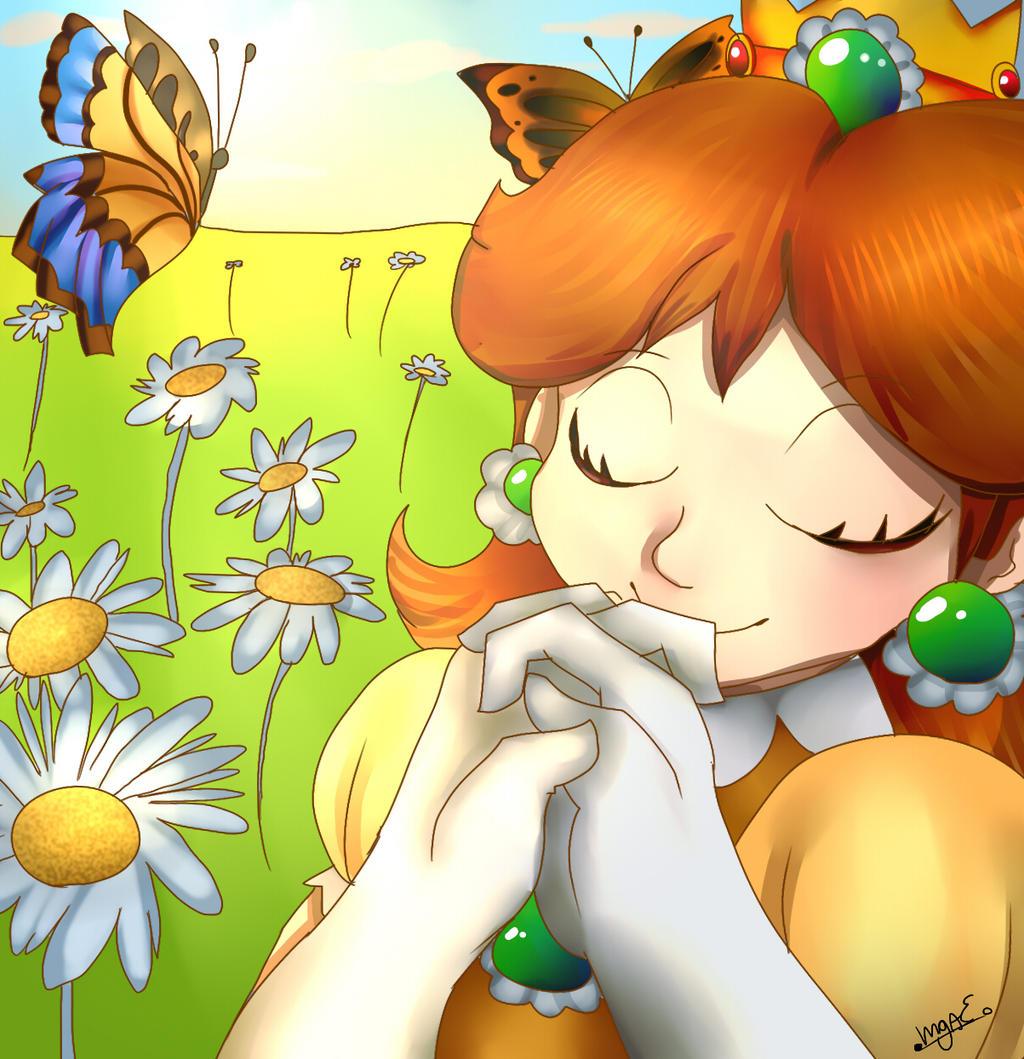 Princess Daisy by mariogamesandenemies