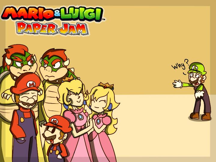 Poor Luigi... by mariogamesandenemies