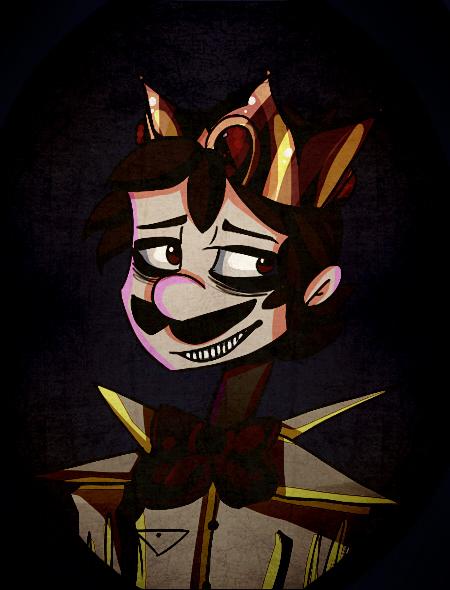 Luigi King Boo by mariogamesandenemies
