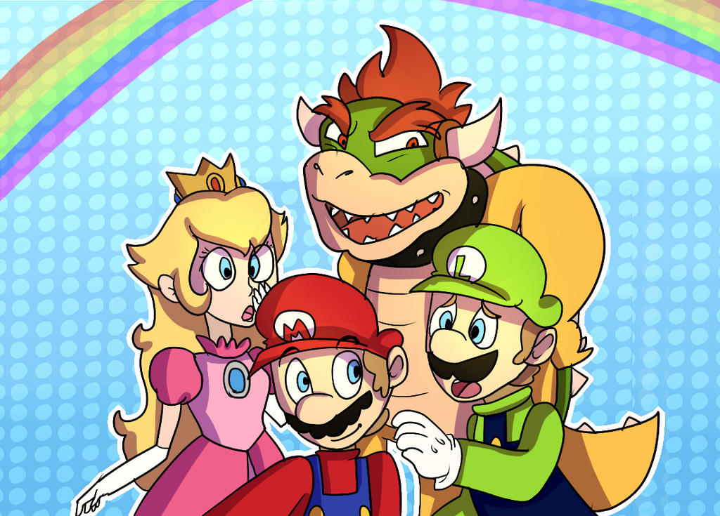 Mario Party 10 Redraw by mariogamesandenemies