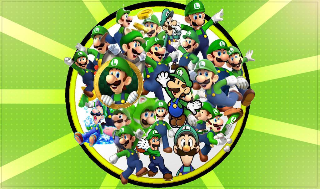 Luigi Wallpaper by mariogamesandenemies