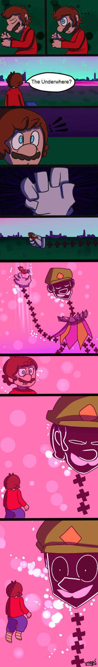 SPM Comic by mariogamesandenemies