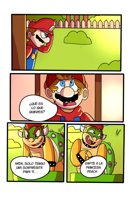 SMB El Plan De Bowser Comic pg4 by mariogamesandenemies