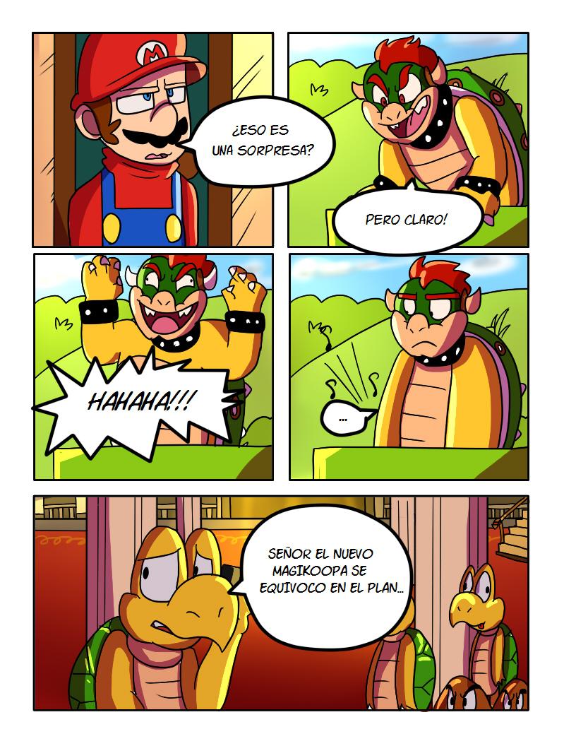 SMB El Plan De Bowser Comic pg5 by mariogamesandenemies