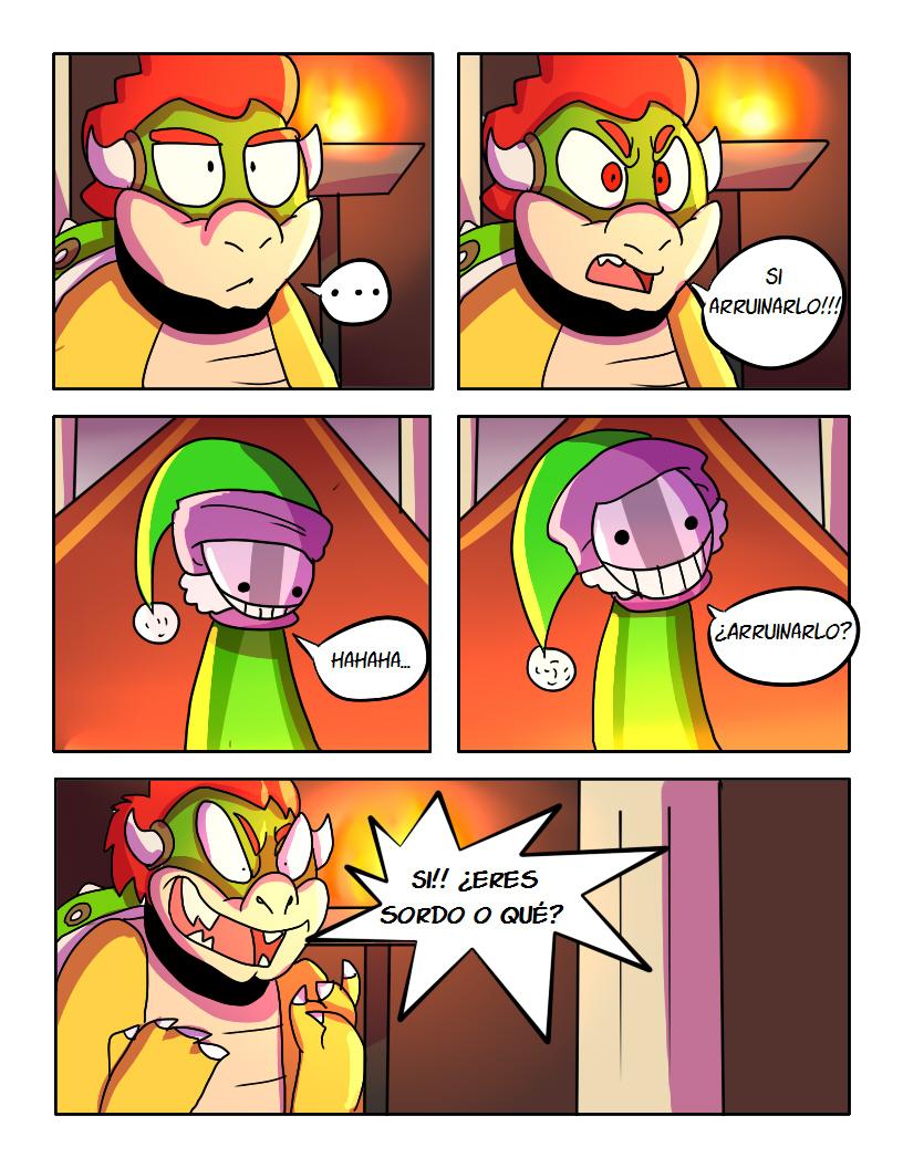 SMB El Plan De Bowser Comic pg12 by mariogamesandenemies