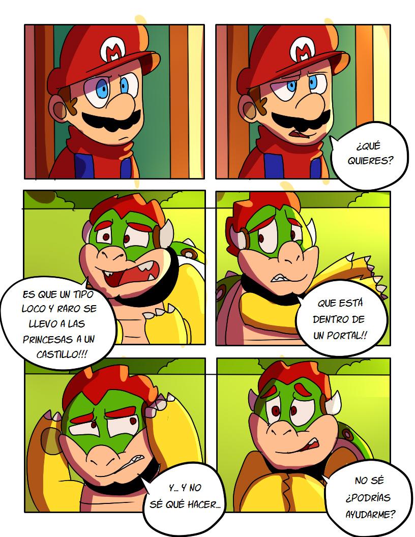 SMB El Plan De Bowser Comic pg17 by mariogamesandenemies