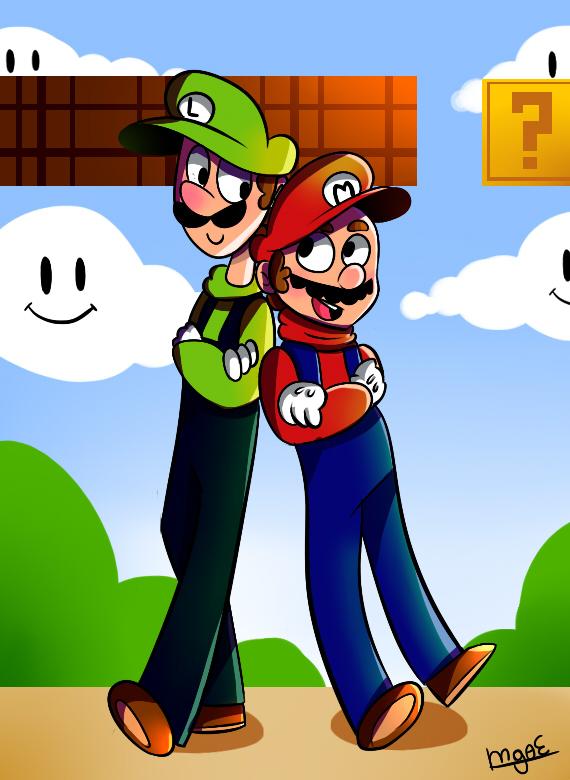 Mario Bros by mariogamesandenemies