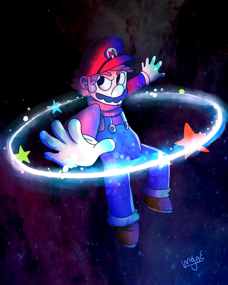 Super Mario Galaxy by mariogamesandenemies