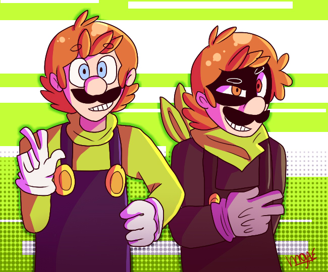 Two Losers by mariogamesandenemies