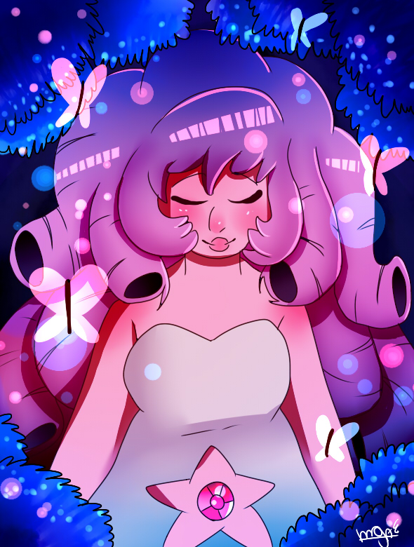 Rose Quartz by mariogamesandenemies