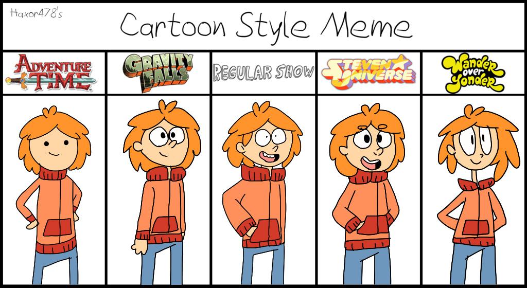 Nathan (Style Meme) by mariogamesandenemies