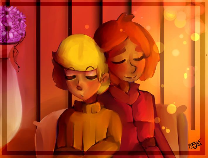 Orange Room by mariogamesandenemies