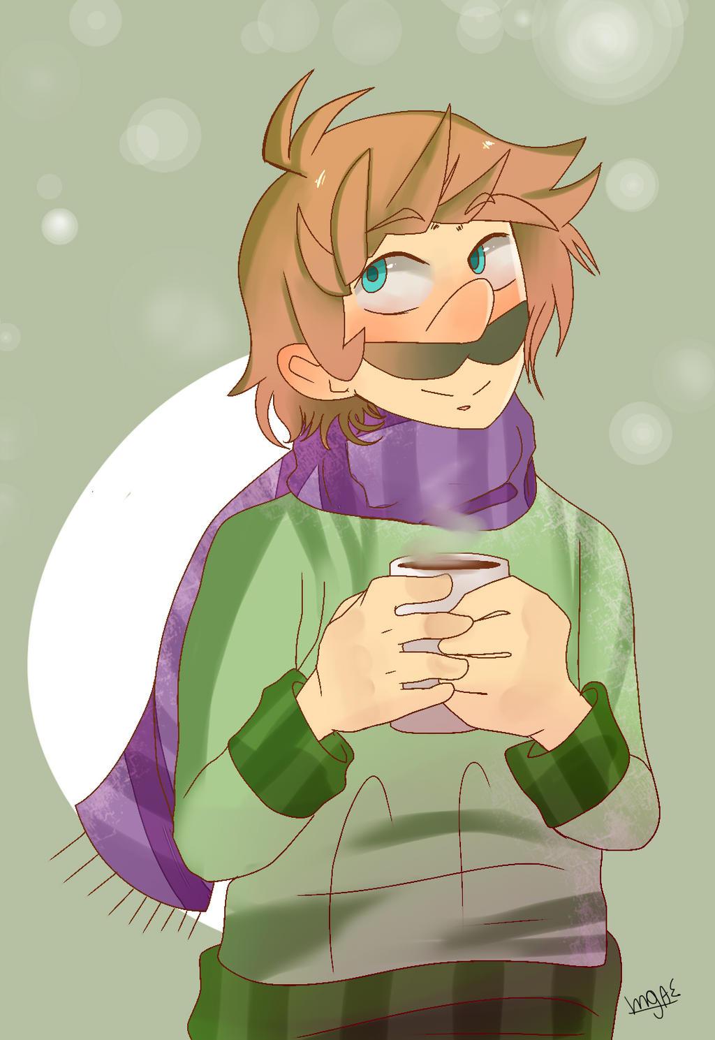 Winter Luigi by mariogamesandenemies