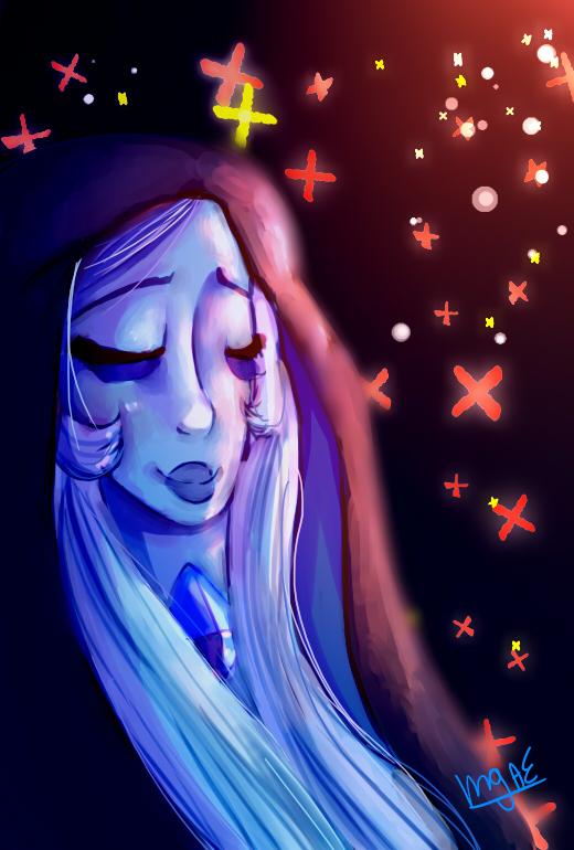 Blue Diamond by mariogamesandenemies