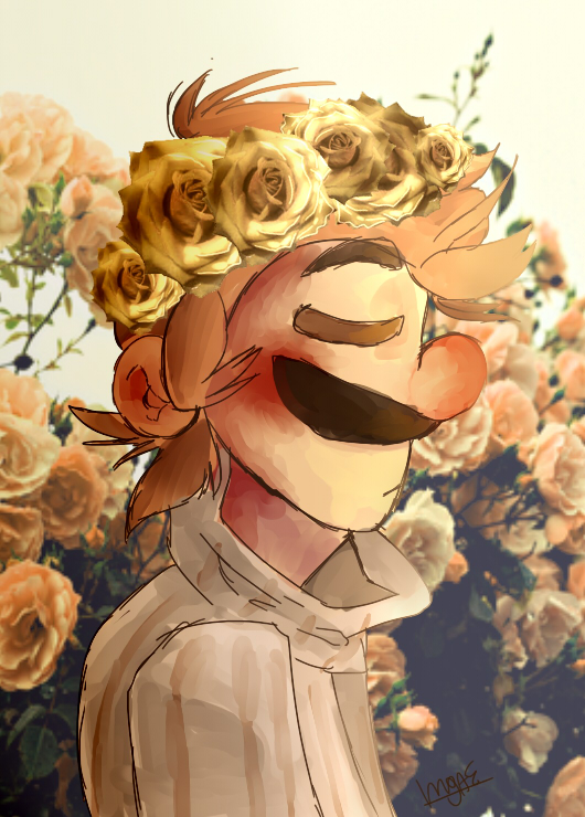 Flower Crown by mariogamesandenemies