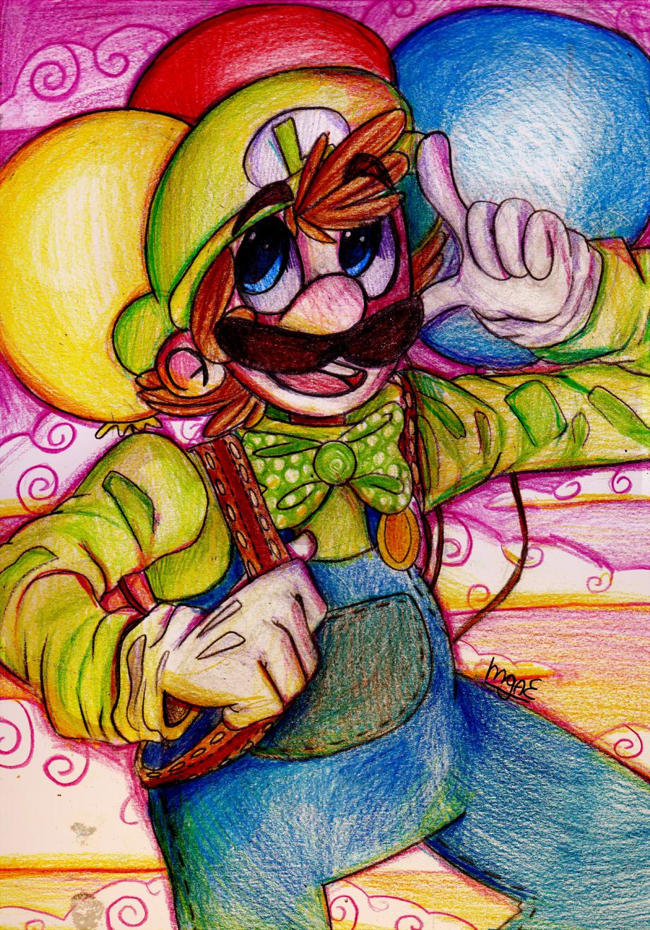 Luigi's Balloon World by mariogamesandenemies