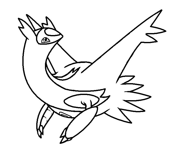 latias and latios coloring pages - photo#29