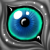 Free eye icon 1 by GasMaskMonster