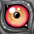 Free eye icon 2 by GasMaskMonster