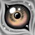 Free eye icon 3 by GasMaskMonster