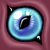 Free eye icon 6 by GasMaskMonster