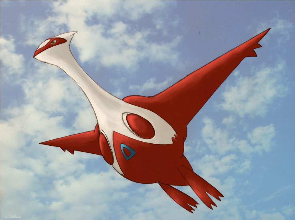 latias under View by GasMaskMonster