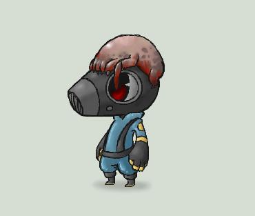 headcrab pyro by GasMaskMonster