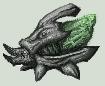 Green kralee by GasMaskMonster