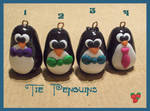 Bow-Tie Penguins, fimo