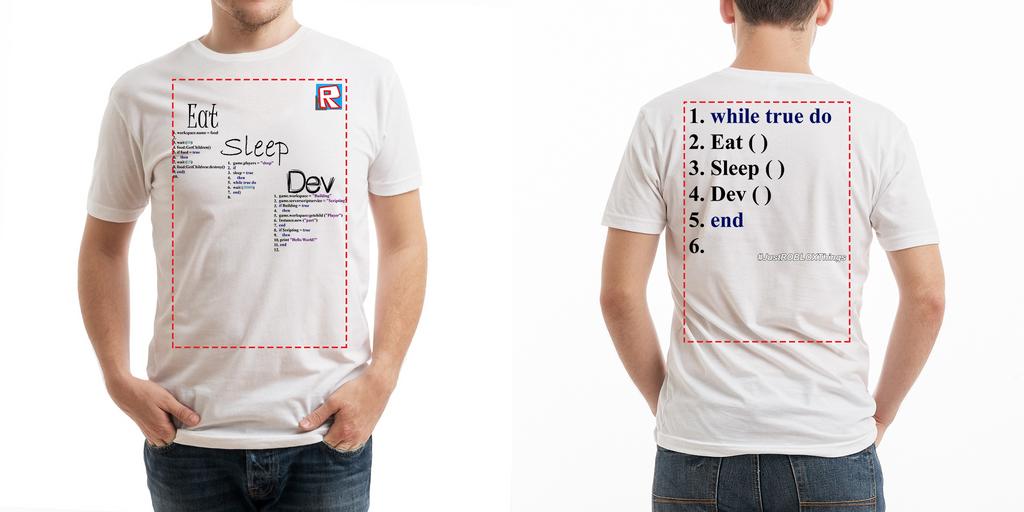 Roblox T Shirt Template T-Shirt Designs