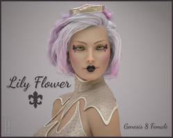 Lily Flower Genesis 8 female by MoyKot