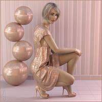 A Pink Scene by MoyKot