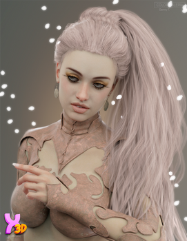 Biscuits Noa Hair with dForce for Genesis 8 Female