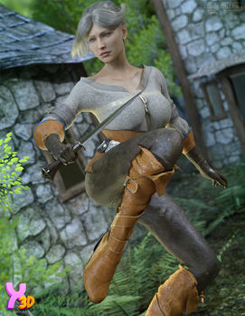 colorgaleria SC Freya Outfit for G8F by Secondcirc