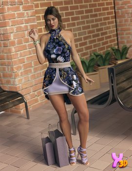 Stylish For dForce Joslyn Candy Outfit