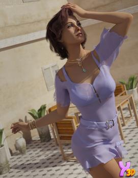 dForce Alivia Candy Dress