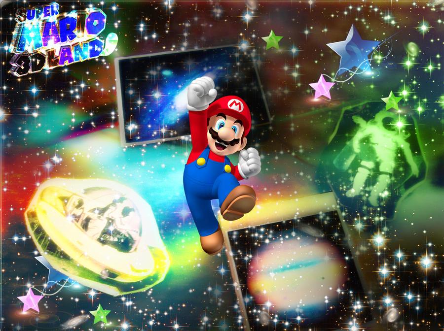 Mario Universe by JamesTyson