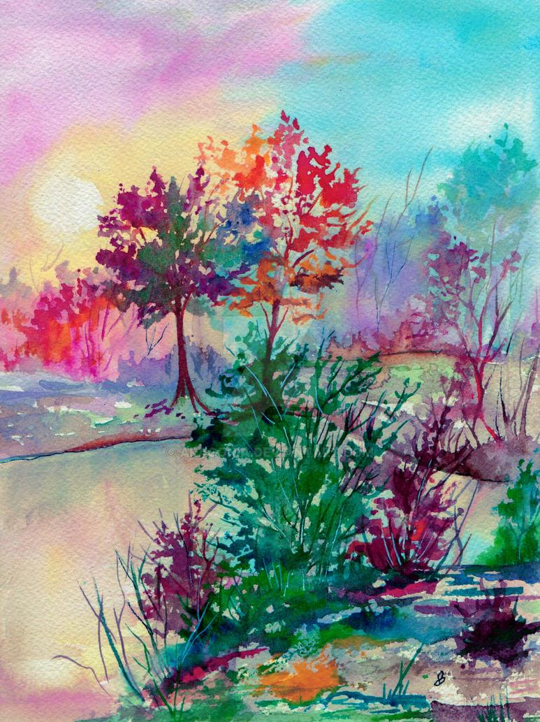 Autumn Aura by aragonia