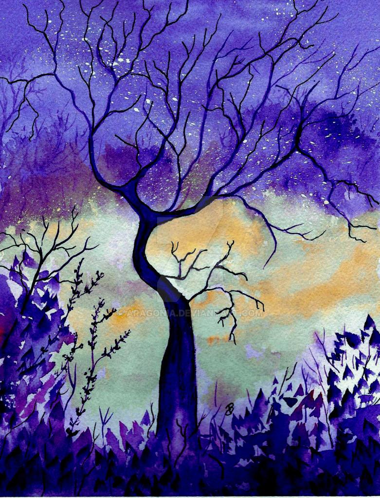 Purple Passion Night by aragonia