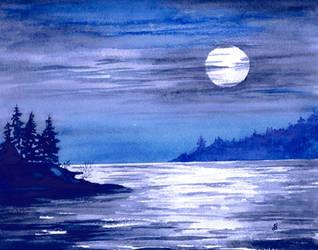 Moonrise Magic by aragonia