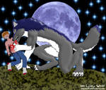 A Werewolf's Moonlit Dinner